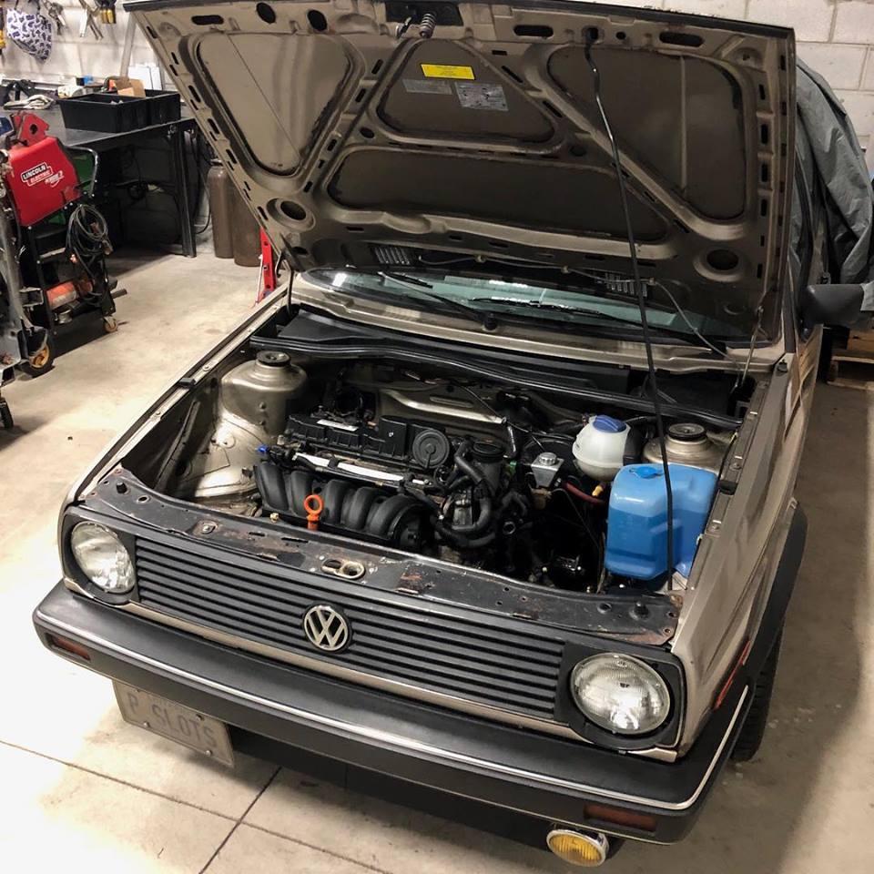 MK2 2 5L Engine Swap Kit (07K)