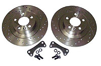 Rear Brake Disk Upgrade, 232mm to 280mm