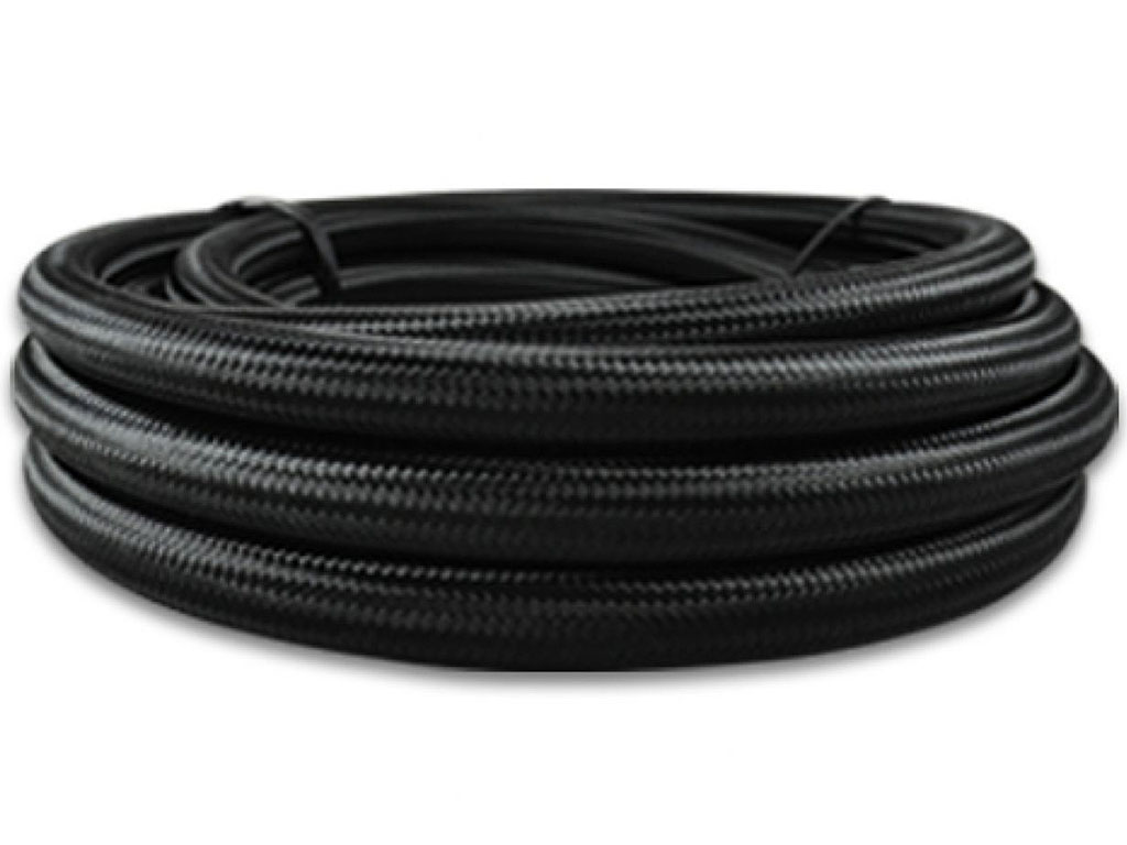 Black Braided Hose (4AN)