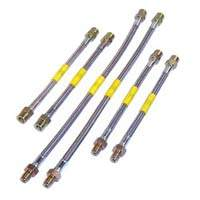 DOT Kevlar/Stainless Steel Brake Lines (MK1&2 w/rear disks)