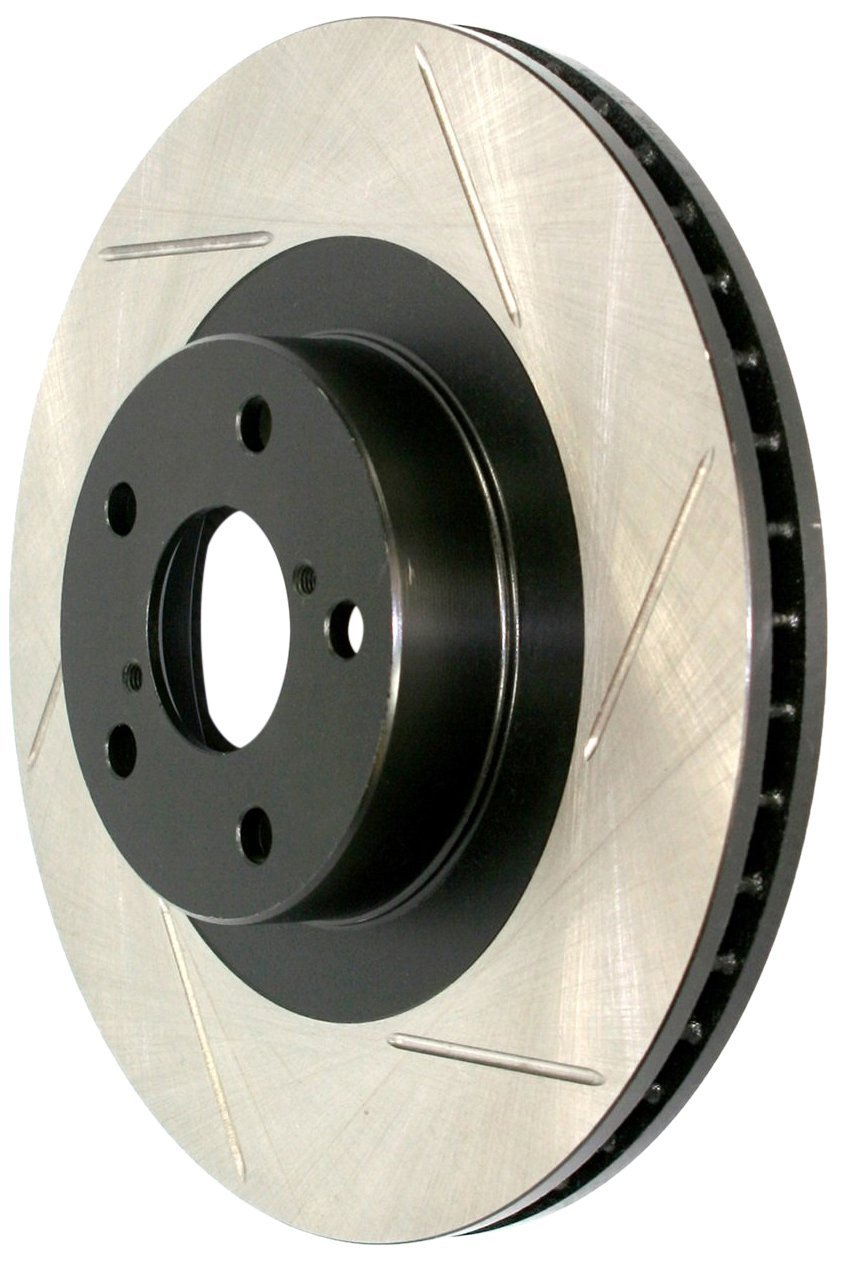 Stoptech slotted 312mm rotor for Mk4 Volkswagen VW/Audi TT