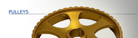 Pulleys/Gears/Sprockets
