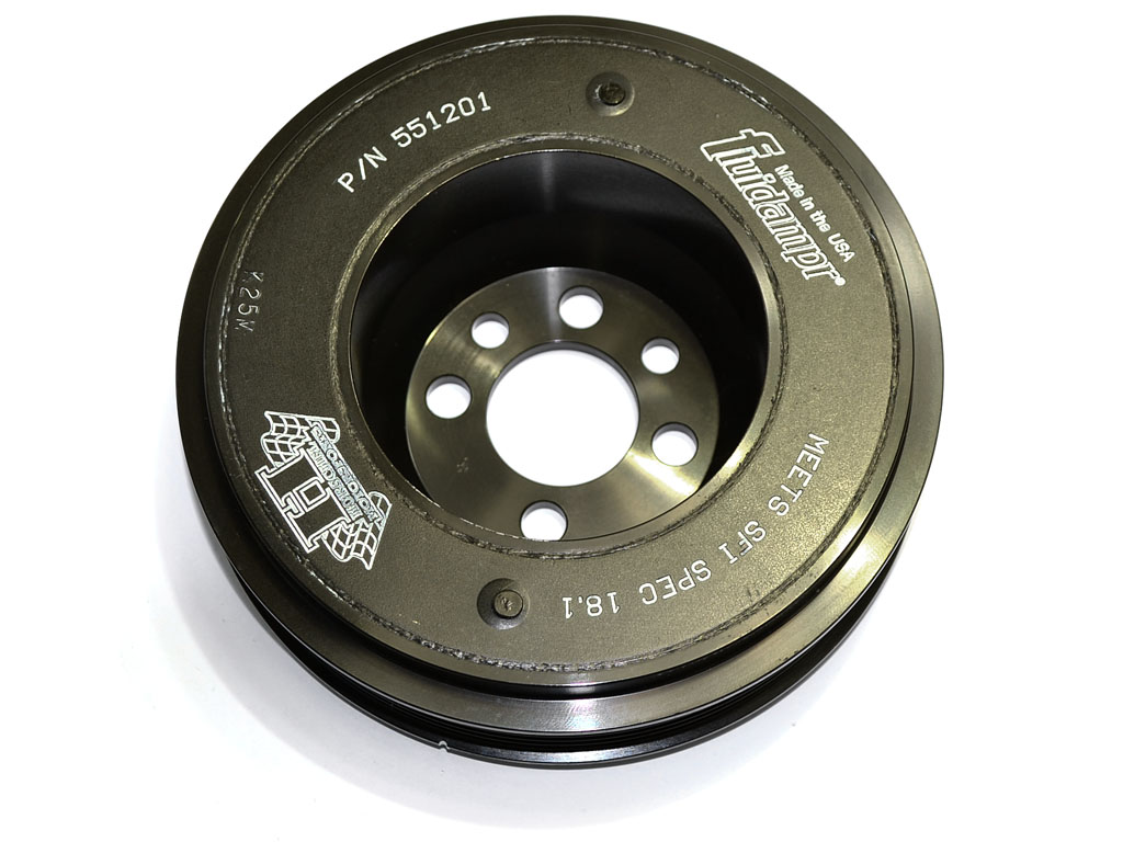Fluidampr Viscous Crank Pulley (ALL 1.8T)
