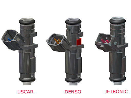 fuel injector connector types