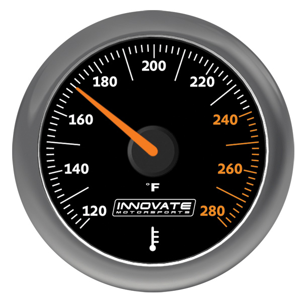 MTX-A: Water / Oil (Fluid) Temperature Gauge