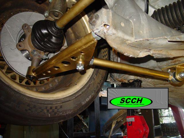 MK1 FULL RACE Control Arms, Ball Joint, Bump Steer Combo