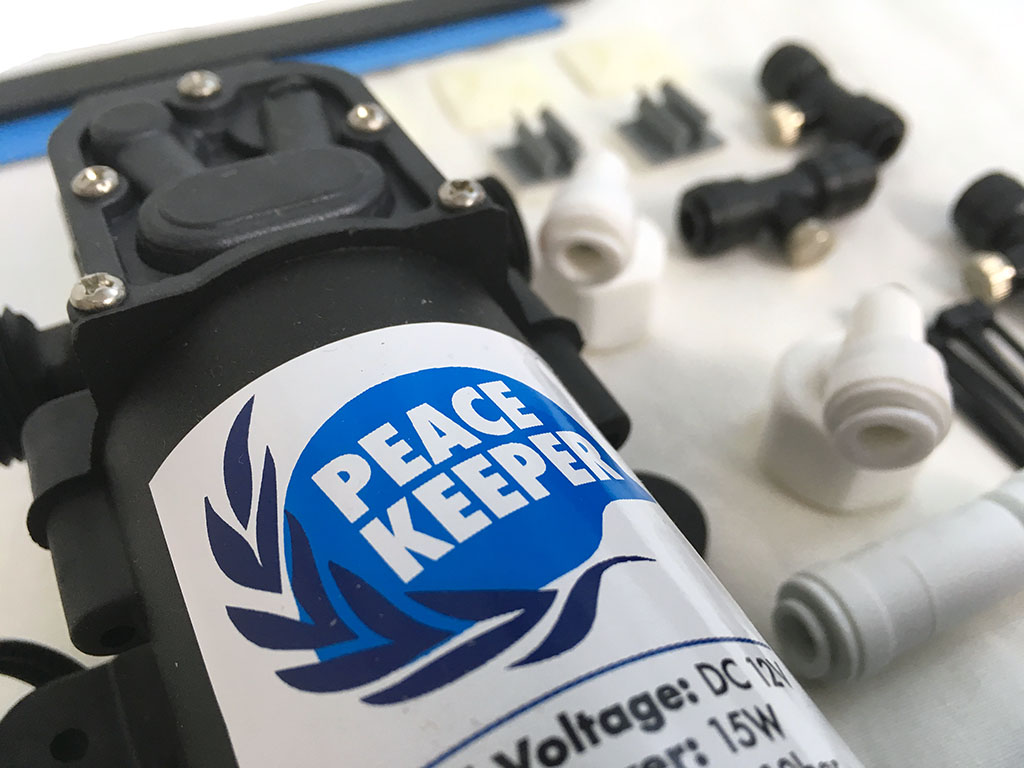 USRT PeaceKeeper kit close up