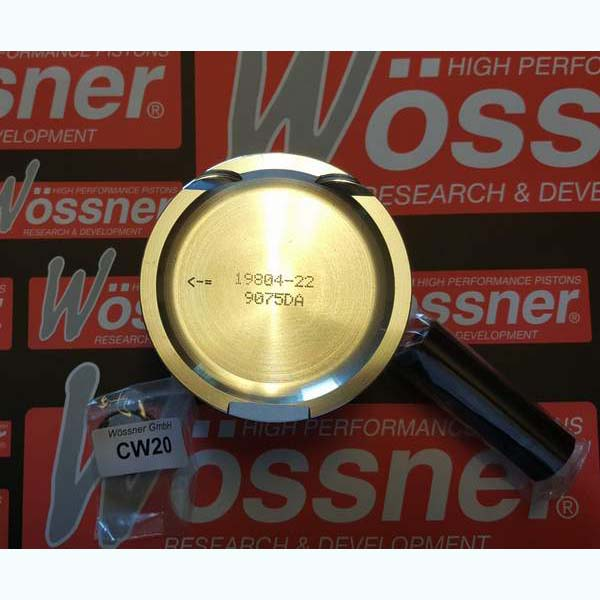 Wossner Forged Piston Set 81mm 1.8T 8.5-1 20mm Pin