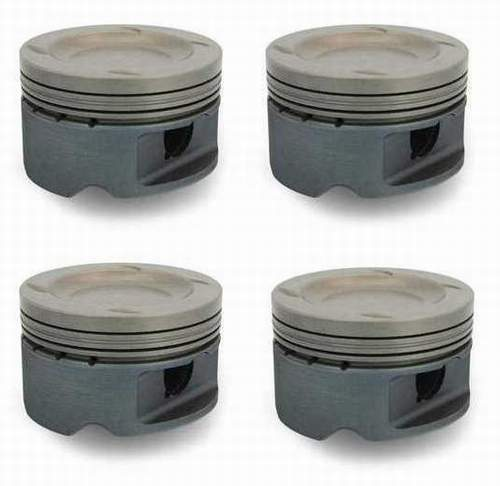 Forged 2.0T FSI Piston Set 83mm 9-1 CR (+.5mm over bore)