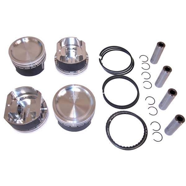 Wossner Forged 2.0T FSI Piston Set 83.5mm 9-1 CR (+1mm)