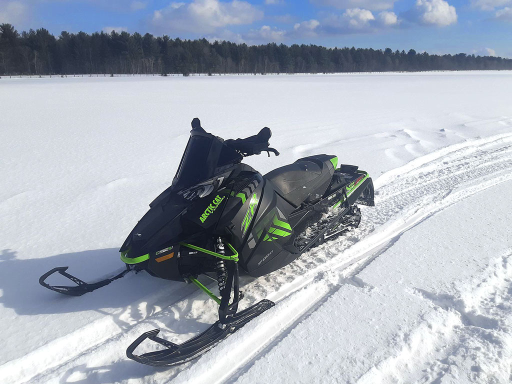 Arctic Cat ZR 9000 turbo water/meth system