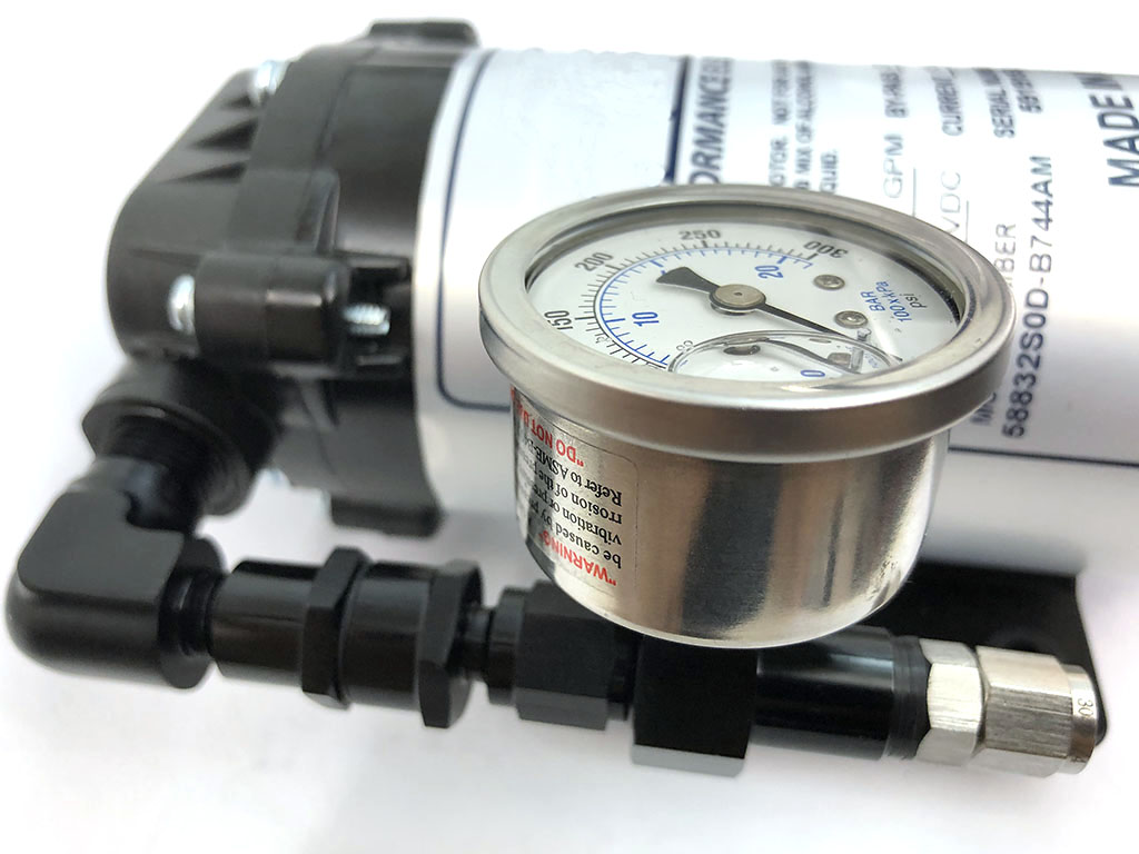 USRT water meth FAILSAFE Pump Outlet with sensor