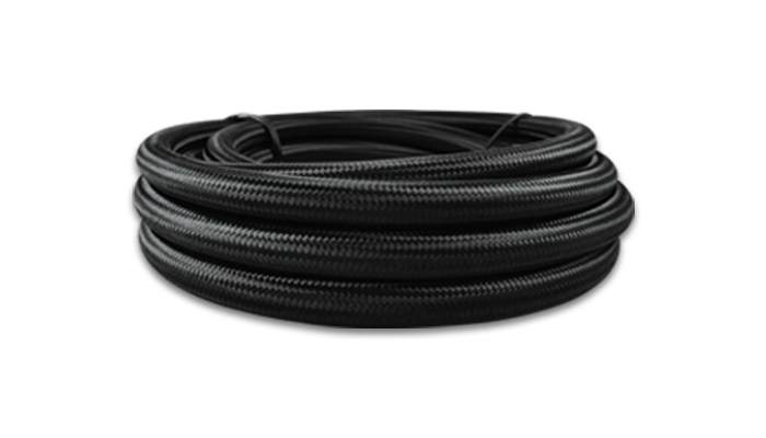 Black Braided Flex Hose (6AN)